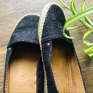 Aero soles Black Lace Loafers